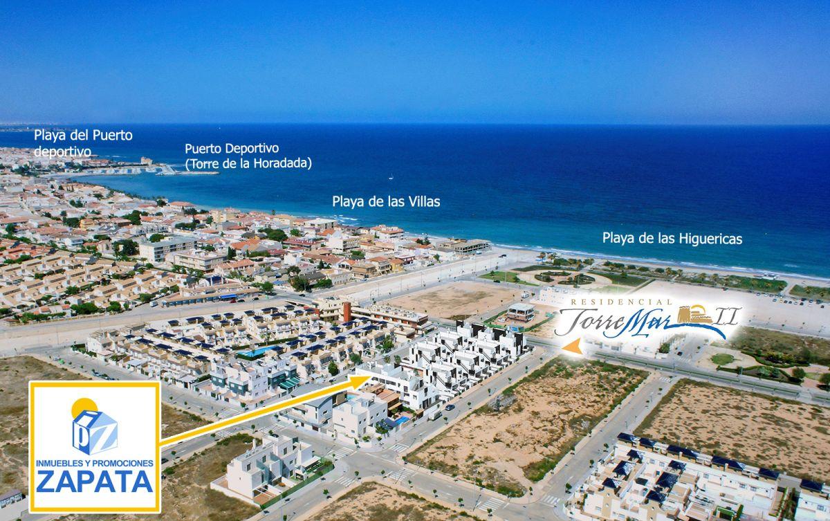 Homes complex torremar ii in las higuericas beach in torre de la horadada zapata projects s l - Casas en pilar dela horadada ...